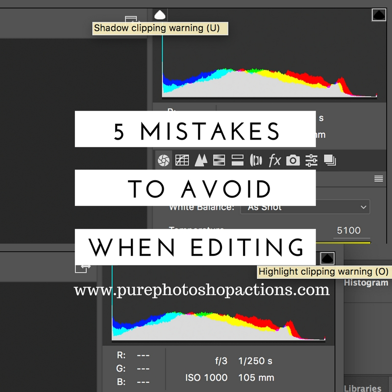 5 Things to Avoid When Editing Photos