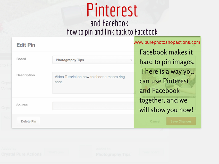 How to Pin Images from Facebook
