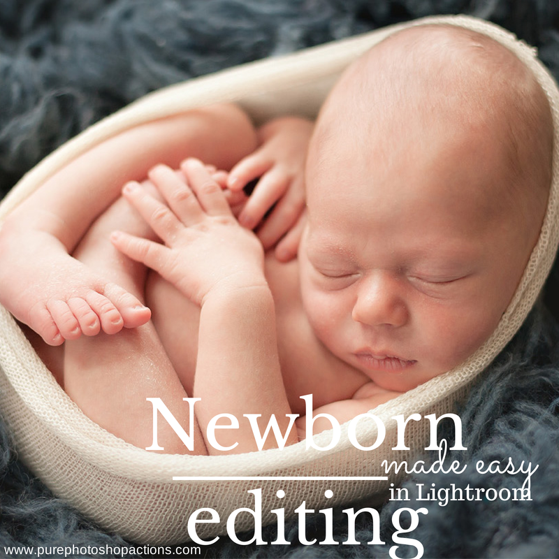 Newborn Editing in Lightroom made easy