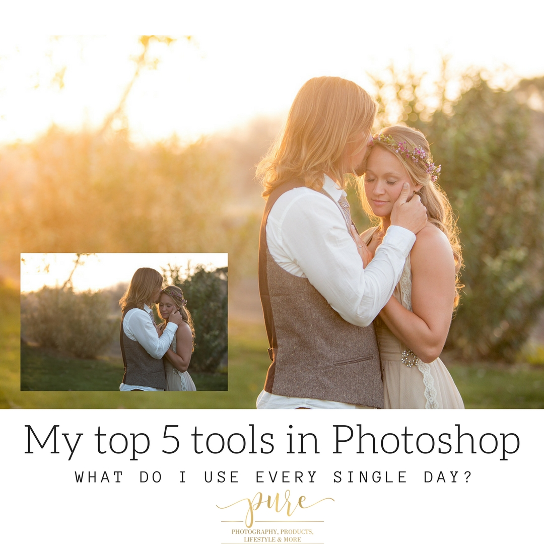 5 tools I use every day in Photoshop