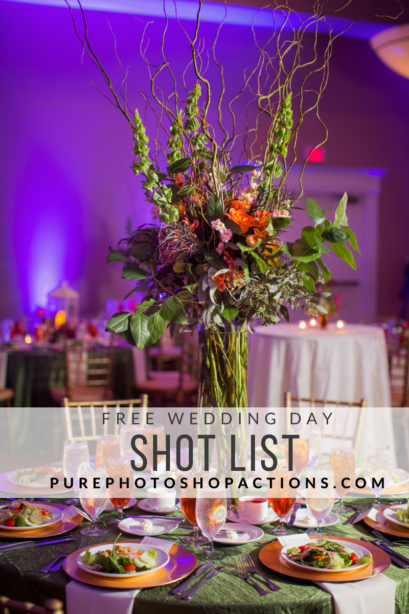 Wedding Day Shot List